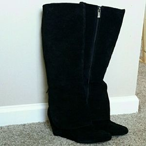 Jessica Simpson wedge boots